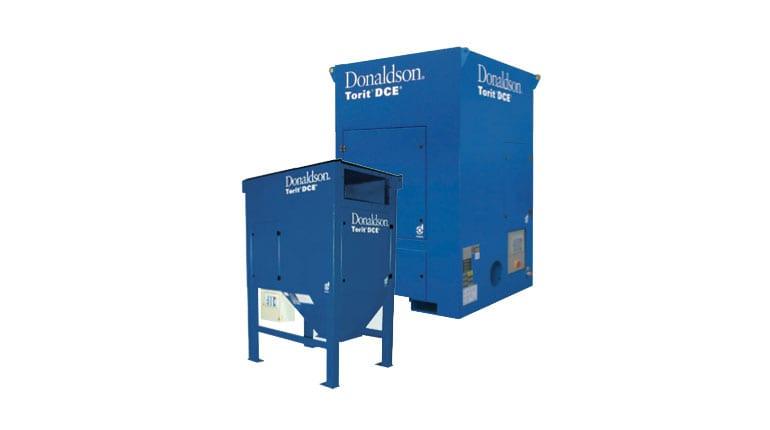 Absaugsystem Donaldson - Astratec Plasmaschneidmaschinen und Schweißautomatisierung